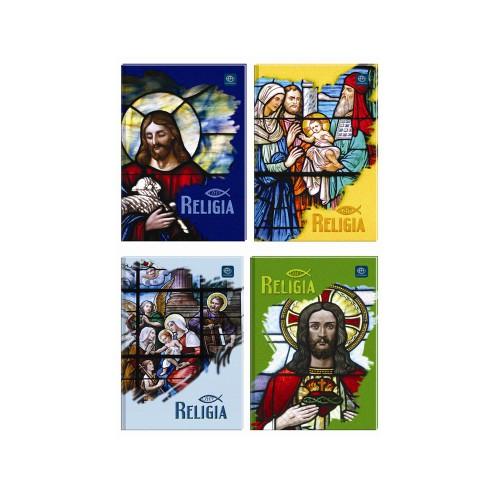 BRULION A5 64 KARTKI KRATKA RELIGIA INTERDRUK