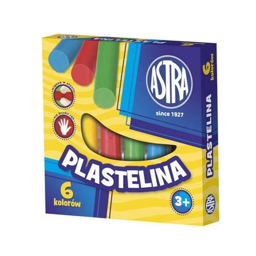 PLASTELINA 6 KOLORÓW ASTRA
