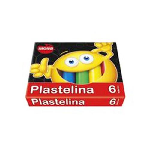 PLASTELINA 6 KOLORÓW MONA