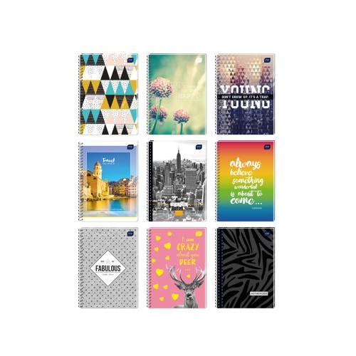 KOŁOZESZYT A5 100 KARTEK KRATKA INTERDRUK