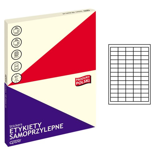 ETYKIETY SAMOPRZYLEPNE 001 38X21,2/65 GRAND