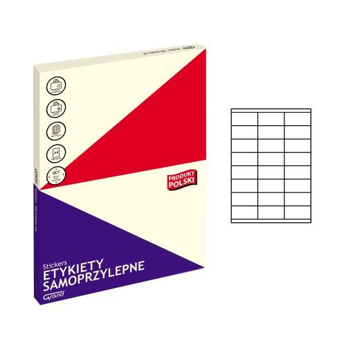 ETYKIETY SAMOPRZYLEPNE 012 70X35/24 GRAND