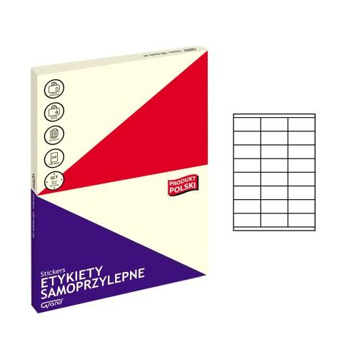 ETYKIETY SAMOPRZYLEPNE 013 70X36/24 GRAND