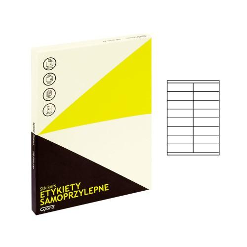 ETYKIETY SAMOPRZYLEPNE 021 105X33,8/16 GRAND