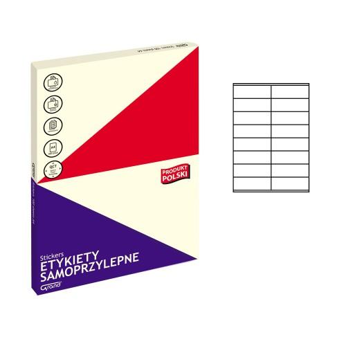 ETYKIETY SAMOPRZYLEPNE 022 105X35/16 GRAND