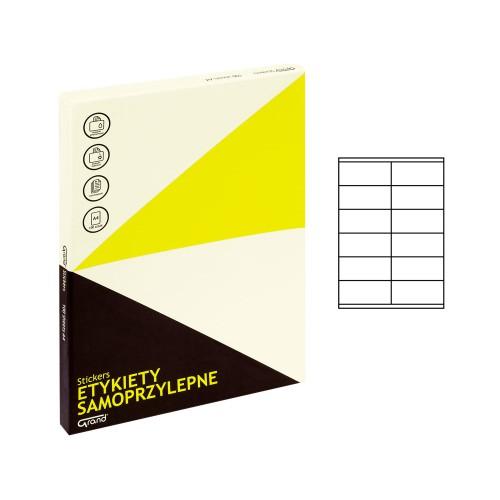 ETYKIETY SAMOPRZYLEPNE 026 105X48/12 GRAND