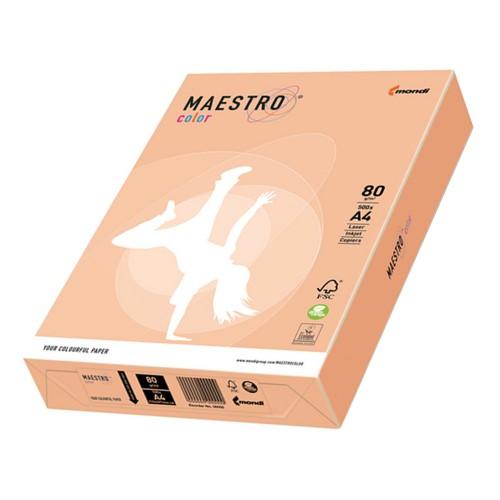 PAPIER PASTEL MAESTRO COLOR 80G 21X29.7 A4 SA24