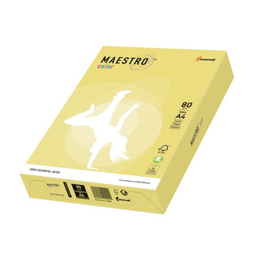 PAPIER TREND MAESTRO COLOR 80G/MM2 21X29,7 A4 ZG34