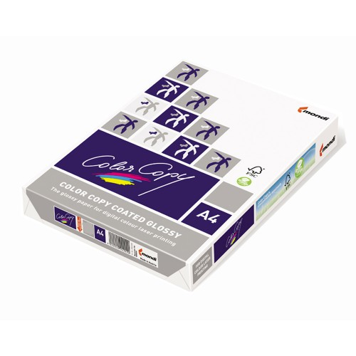 PAPIER COLOR COPY COATED GLOSSY 200G /M2 A4 A'250