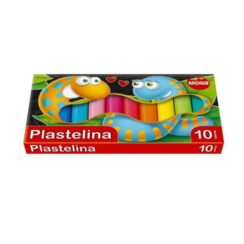 PLASTELINA 10 KOLORÓW MONA