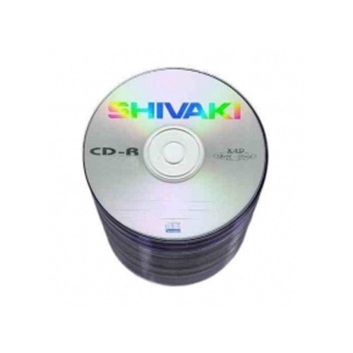 PŁYTA SHIVAKI SILVER DISC CD-R 700MB A'25