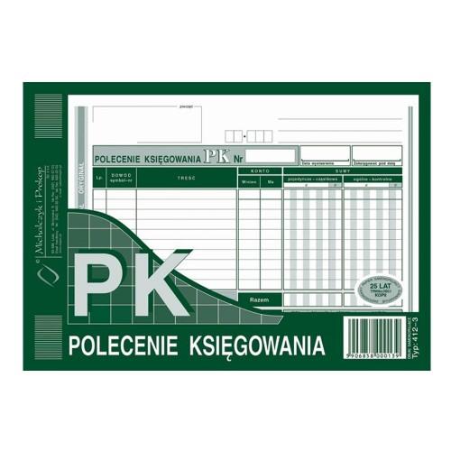 PK POLECENIE KSIĘGOWANIA A5 412-3