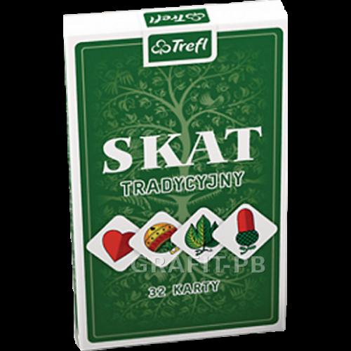 KARTY 32-LISTK. SKAT KT-08317 TREFL