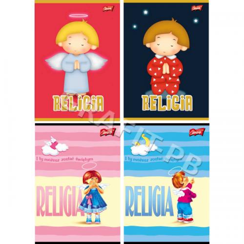 ZESZYT DO RELIGII CIENIOWANY 32 KARTKI UNIPAP