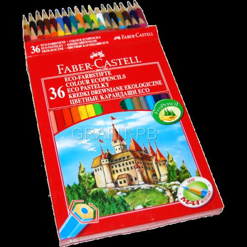 KREDKA FABER-CASTTEL ZAMEK 36 KOLORÓW FC120136