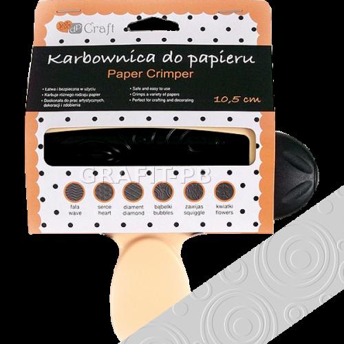 KARBOWNICA DO PAPIERU 10,5CM BĄBELKI JCKA-M-001