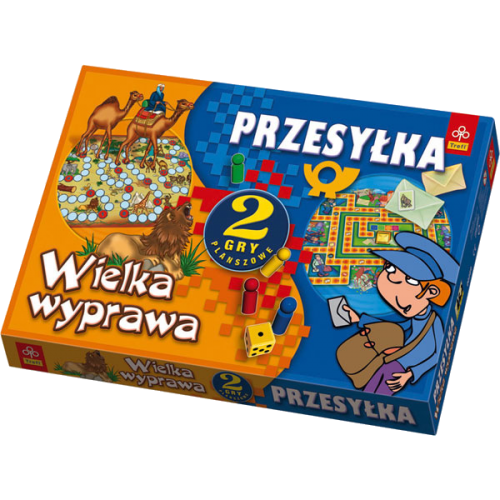 GRA PRZESYŁKA WIELKA WYPRAWA TREFL GT-00289