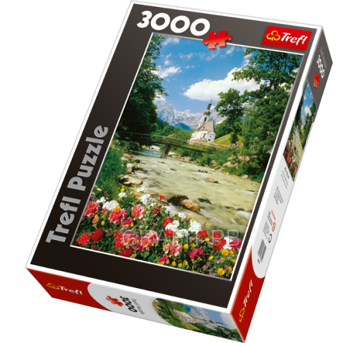 PUZZLE 3000 RAMSAU ALPY BAWARSKIE TREFL PT- 33019