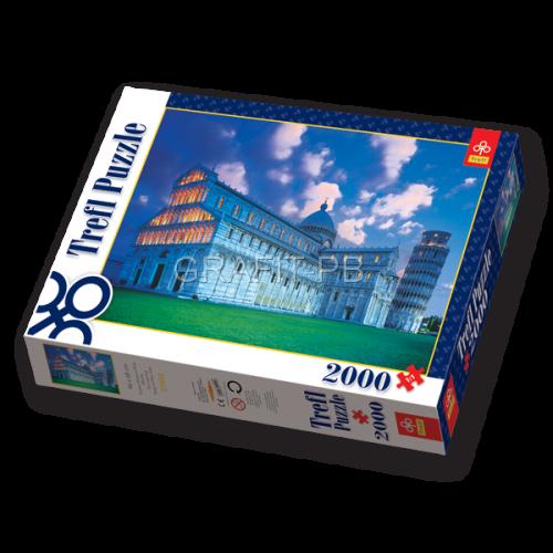 PUZZLE 2000 KRZYWA WIEŻA W PIZIE TREFL PT-27052