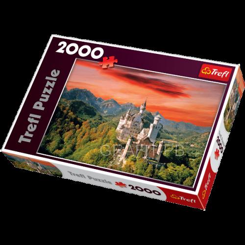 PUZZLE 2000 NOWY ŁABĘDZI KAMIEŃ BAW TREFL PT-27050