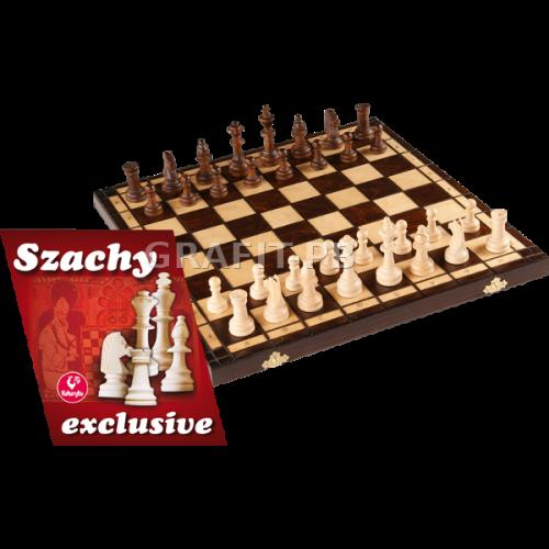 SZACHY EXCLUSIVE AMI PLAY DREWNIANE 0093